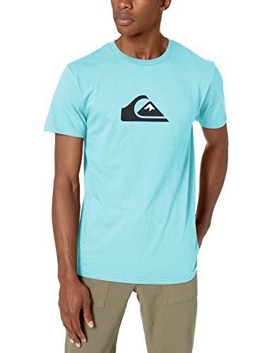 Preisvergleich Produktbild Quiksilver Herren COMP Logo Tee Hemd,  Gulf Stream,  X-Groß
