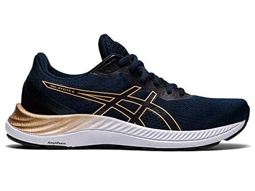 ASICS Women's Gel-Excite 8 Running Shoes, 6.5M, French Blue/Champagne