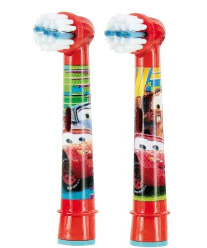 Braun Oral-B Stages Power 2er–Testine di ricambio per bambini–Motivo Cars/Autos