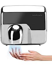 Modundry Secador de Manos automático de Acero Inoxidable, secador de Manos eléctrico de Servicio Pesado, Comercial y hogar,2300W