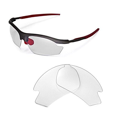 Walleva Ersatzgläser für Rudy Project Rydon Sonnenbrille - Mehrfache Optionen (Klar)