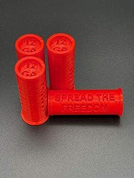 TechStudio3D 12 GA Gauge Dummy Rounds Snap Caps Shell Shotgun Training Dry Fire Ammo Inert 12GA  5 Pack  - Made in USA  Red