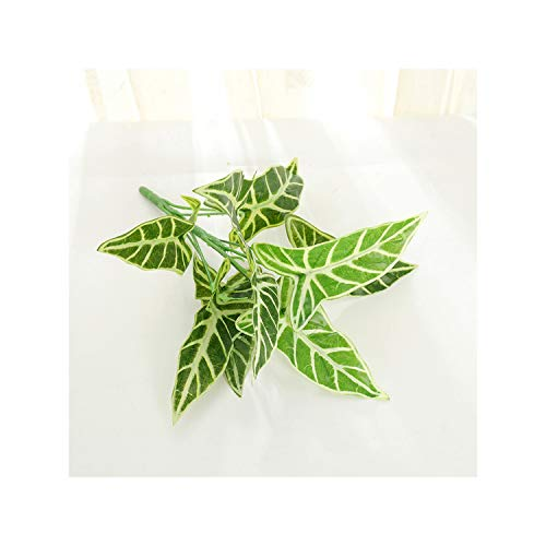 KenFandy Artificial Plants Fake Green Leaves Garden Home Decor Simulated Plant Wall Accessories Wedding Decoration Party Supplies 3,M