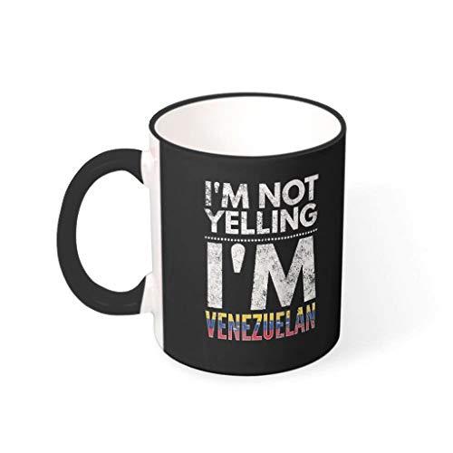O2ECH-8 11 Oz Ich Schreie Niet, ich Bin Venezolanse koffiemok glad keramiek glossy beker - grappige spreuken jongens mannen geschenken (beide zijden bedrukken)