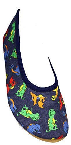 Beck Unisex-Kinder Dinos Gymnastikschuhe, Blau (Blau 34), 27 EU