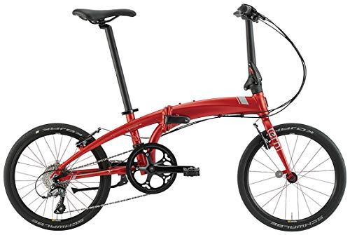 tern(ターン)2021年モデル Verge N8 20インチ 8段変速 フォールディングバイク マットレッド/ダークシルバー