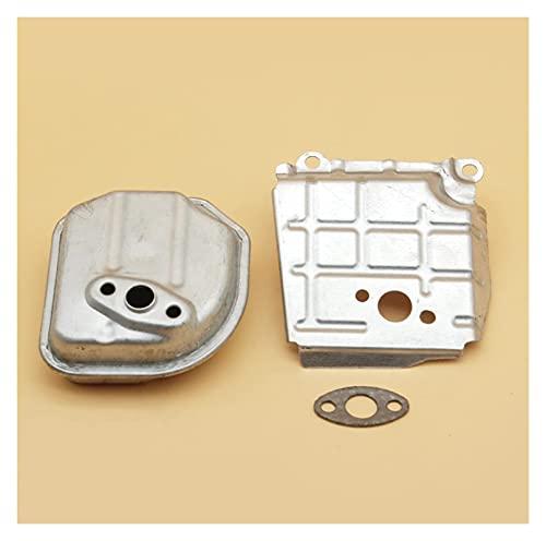 Junta de guía de aire del silenciador de escape compatible con H-ONDA GX35 GX35NT HHT35S UMK435, 4 tiempos, motor de gasolina, motor, generador, cortacésped (Color: China) (Color : Spain)