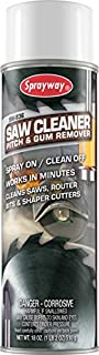 Sprayway SW836 Saw Clean Pitch and Gum Remover, 18 oz