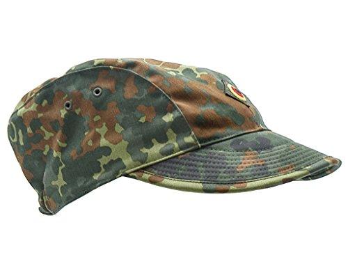 Produit original-casquette militaire armée de la bundeswehr 54-62 couleur camouflage