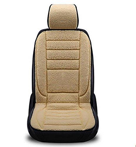 GAOFEI Beheizte Auto Sitzkissen, 12 V Heizung Pad Hot, perfekt für kaltes Wetter und Winter Wärmer Fahren, Single seat warm Rice