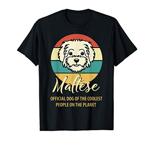 Proud Maltese owner Shirt, Maltese puppy lover, Maltese birt T-Shirt