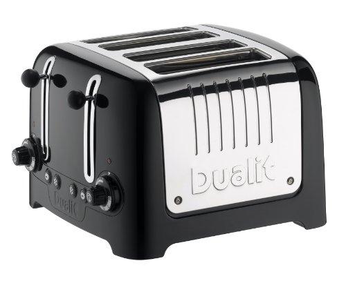 Dualit 4 fentes Classic Vario Grille-pain En Acier Inoxydable Poli Chrome 4 SLOT