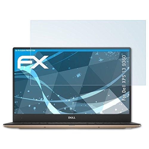 atFolix Schutzfolie kompatibel mit Dell XPS 13 9360 Folie, ultraklare FX Bildschirmschutzfolie (2X)