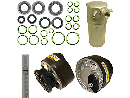 A/C Compressor Kit - R4 6-Groove - Compatible with 1994-1995 Chevy S10 4.3L V6