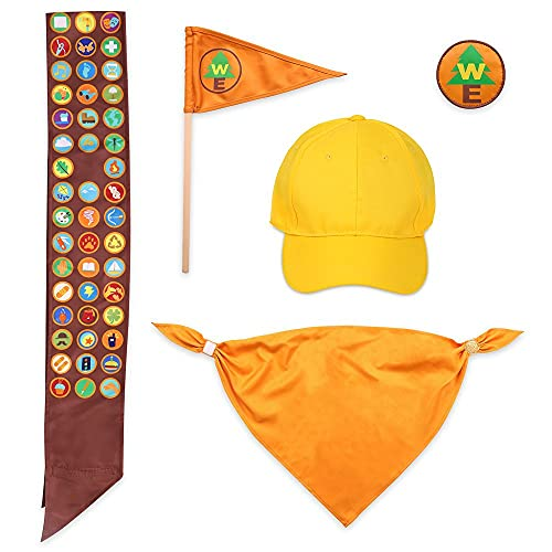Disney Pixar Russell Costume Accessory Set for Adults – Up