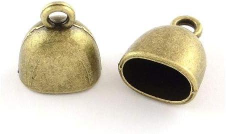 Dedication Wholesale Tibetan Zinc End Today's only Caps Antique Oval Bronze 10 13 x 15mm