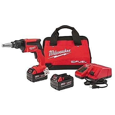 Milwaukee 2866-22 M18 FUEL Drywall Screw Gun- XC Kit with 5.0 Ah Batteries