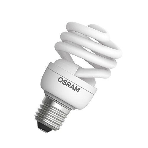 Lâmpada Eletrônica Mini Twist 20w Amarela 220-240v E27 Osram 220v Amarela