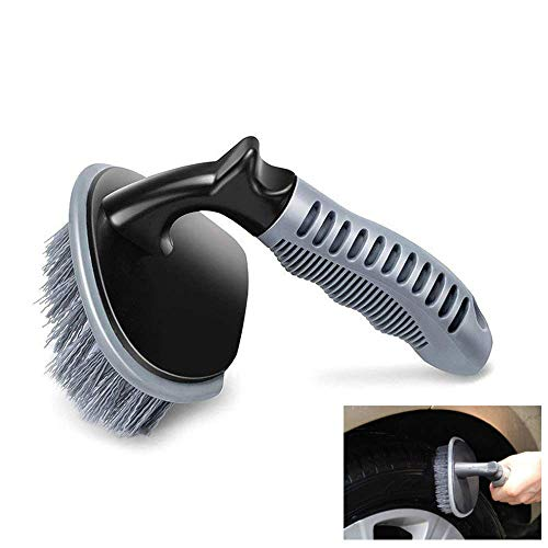 Wheel Brush for Car Alloy Wheel and Tyre Brush Cleaning, Rim Cleaner for Your Car, Motorcycle or Bicycle Tire Brush Washing Tool