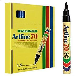 Artline 70 Permanent Marker 1.5mm BLACK (BOX OF 12 PCS)