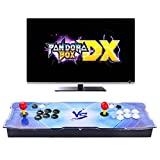 Pandora Box DX Arcade Game Console - 3000 Games Pre-loaded, Support 3D Games, Search/Save/Hide/Pause Games, 1280x720 Full HD, Add More Games, High Score Record, Favorite List, 4 Players Online Game