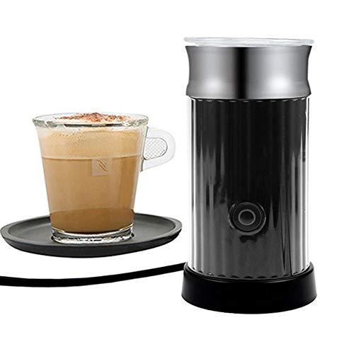 Automatische melkopschuimer, Multifunctionele warm/koud melkopschuimer machine, Gemakkelijk te gebruiken, Dempen en energie besparen, Voor Cappuccino/Latte/Macchiato,Black