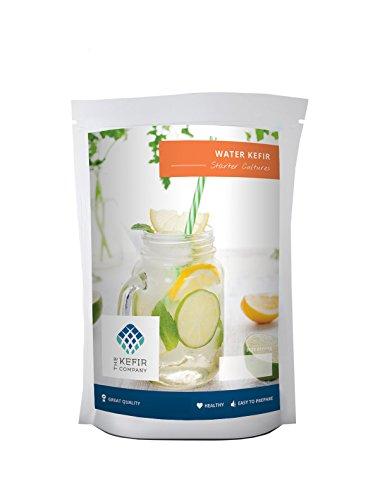 Water Kefir Starter Cultures- 3 Sachets - Make up to 60 litres of Kefir