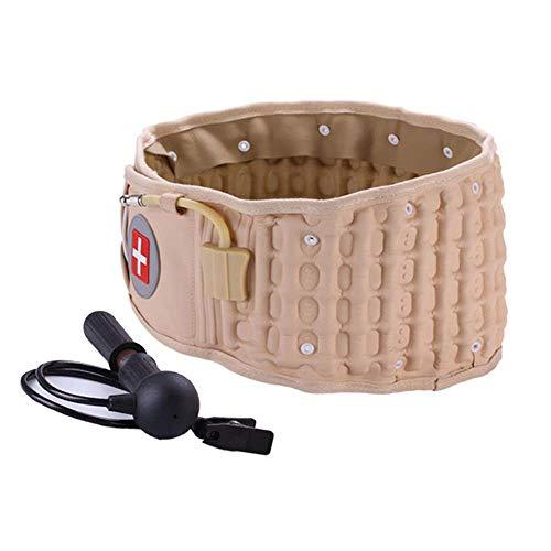 Cinturón de apoyo lumbar para mujeres y hombres, Cinturón de espalda de descompresión, Lumbar Espinal Aire Descompresión Cinturón de espalda Espalda Brace Dolor Soporte lumbar inferior Gran regalo