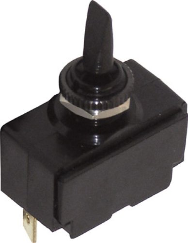 Black Finger Lever Toggle Switch