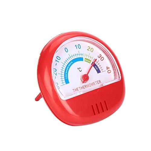Koelkast vrieskast thermometer grote wijzerplaat thermometer (mechanisch) koeler thermometer bewaking voor keuken huis restaurants Rood