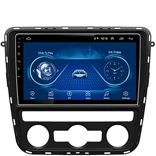 FDGBCF Android 8.1 Auto-GPS-Navigationsradio TV, 9 Zoll...