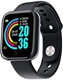 SmartWatch Bluetooth, 1,3 Pollici Schermo IP68 pedometro Resistente Impermeabili Smartwatch Remote Control Camera di Controllo per iPhone Compatibile Samsung Android iOS Apple