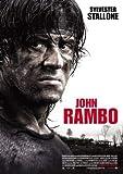Rambo - Sylvester Stallone - Deutsche – Film Poster