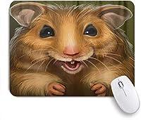 マウスパッド カイト柄プリント 高級感 おしゃれ 防水 端ステッチ 耐久性が良い 滑らかな表面 滑り止めゴム底 24cmx20cm
