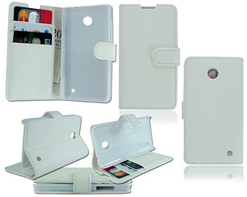 PIXFAB Für HTC Desire 510 Leder Flip Book Wallet Tasche Hülle Cover