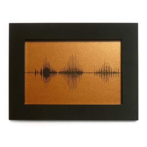 Bronze I Love You Soundwave Art