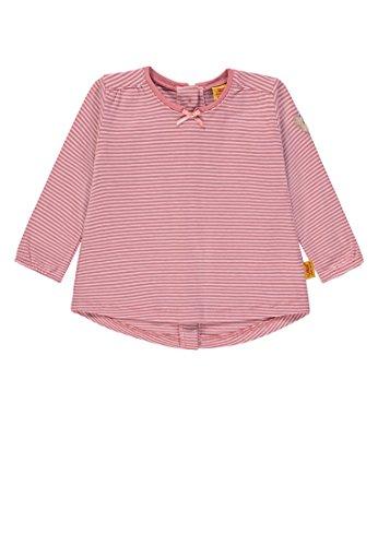 Steiff Steiff Baby-Mädchen T-Shirt 1/1 Arm Langarmshirt, Rosa (y/d Stripe Multicolored 0001), 56