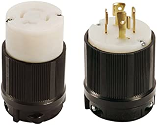 NEMA L16-20 Plug and Connector Set - Rated for 20A, 480V, 4-Wire, 3 Pole - cUL Listed