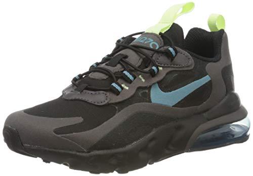 Nike Jungen Air Max 270 Rt (ps) Laufschuh, Black/Cerulean/Thunder Grey/Barely Volt, 28 EU