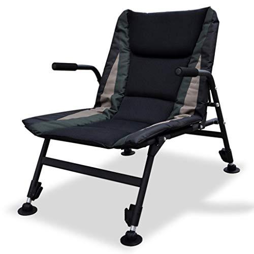 Chaise pliante en alliage d'acier Chaise longue inclinable Chaise de loisirs en plein air Chaise de pêche Chaise siesta