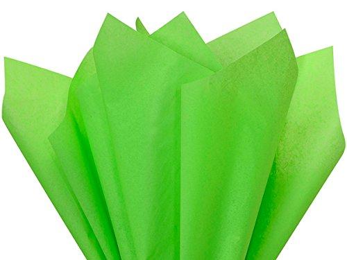 Groovy Green Tissue Paper 15 X 20-100 Sheet Pack Premium HIgh Quality Tissue A1 Bakeru Supplies Made in USA