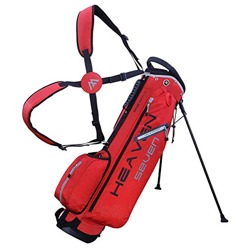 Big Max Heaven 7 Golf Standbag - Ultraleicht - 2019 Rot