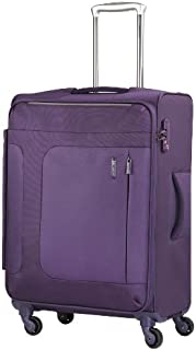 SAMSONITE LUGGAGE ASPHERE SPINNER 76 CM 72R50003-PURPLE