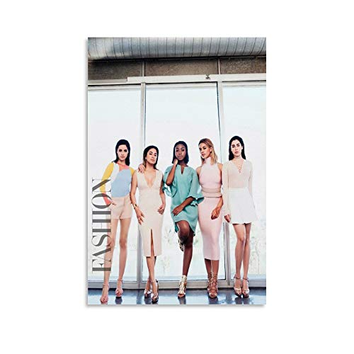 Fifth Harmony American Girl Group Camila Cabello Lauren Jauregui Normani Ally Brooke Dinah Jane Hansen Band Musician Singer Songwriter Poste Poster dekorative Malerei Leinwand Wandkunst Wohnzimmer Pos