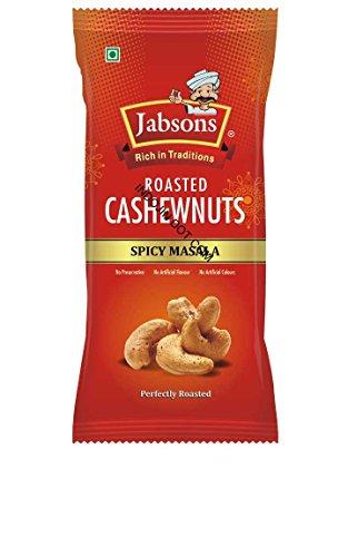 「Jabsons」 ローステッド カシューナッツ スパイシーマサラ(Roasted Cashew Nut Spicy Masala)100g*6