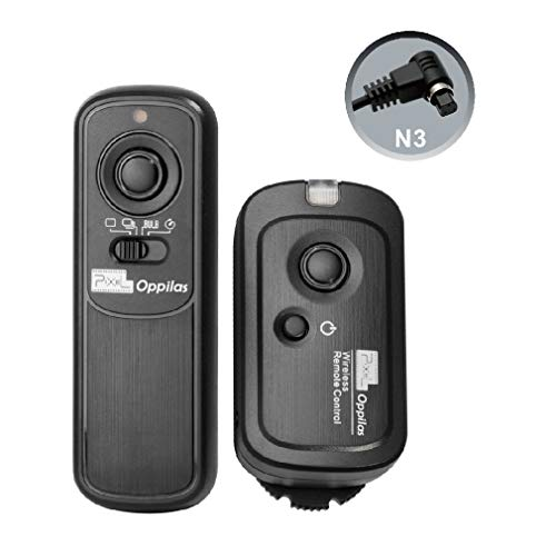 Pixel Oppilas 2.4g Digital Wireless Remote Shutter Switch N3 for Canon...