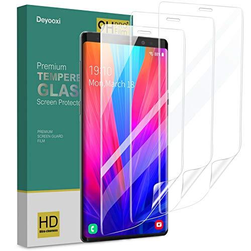 Deyooxi 3 Stück Schutzfolie für Samsung Galaxy Note 8,Full Screen Weich TPU Bildschirmschutzfolie mit Hohe Empfindlichkeit für Samsung Galaxy Note 8,Klar HD Vollständige Abdeckung Folie,Nicht Panzerglas