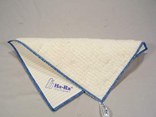 Ha-Ra Natura Umwelttuch blau umrandet - für die Reinigung im gesamten Wohnbereich geeignet