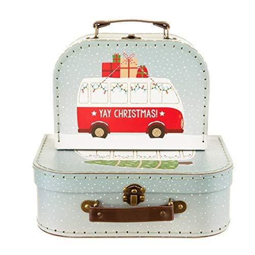 sass and belle Duo de valise pour Noël