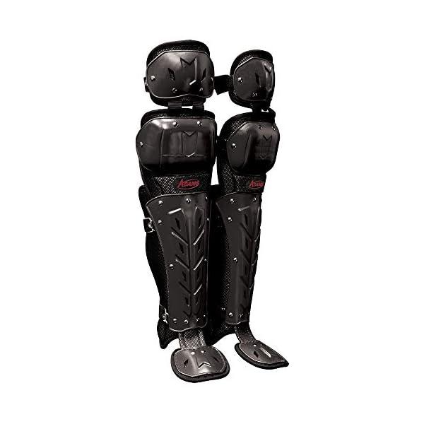Adams Scorpion Double Flex Baseball and Softball Umpire Leg Guards